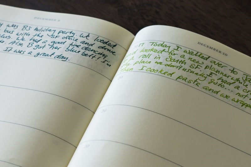 Leuchtturm 1917 some lines a day journal