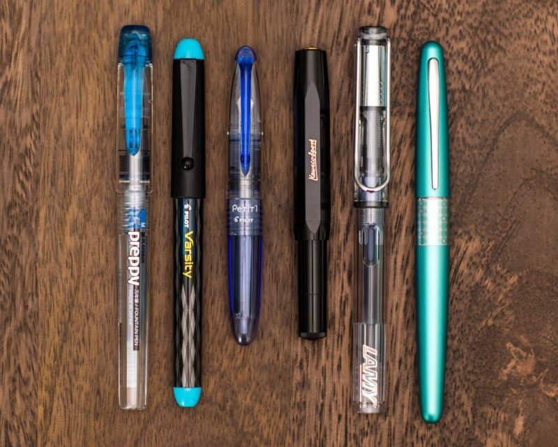 best fountain pen for beginners lineup