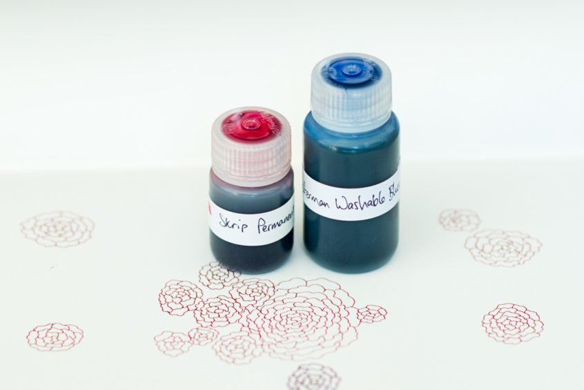 nalgene bottle fountain pen ink storage