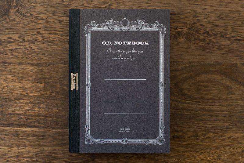 apica premium cd fountain pen notebook