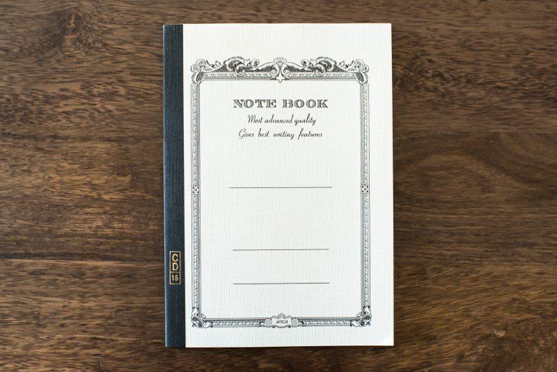 Apica CD15 fountain pen friendly notebook