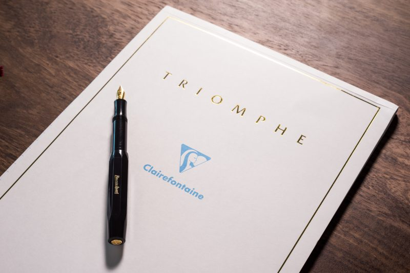 best fountain pen paper clairfontaine triomphe