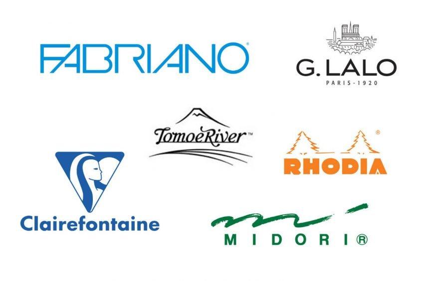 fountain pen paper manufacturer logos