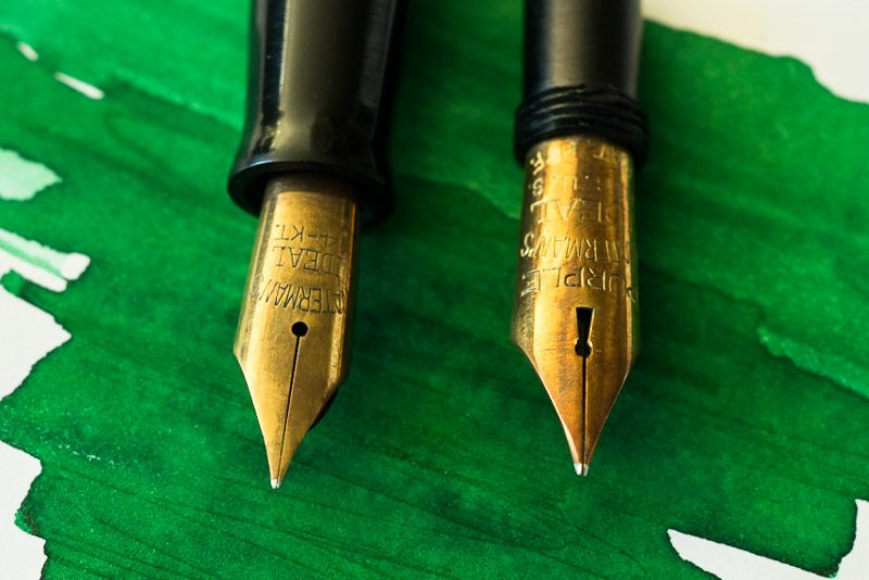 how to polish a fountain pen nib waterman keyhole