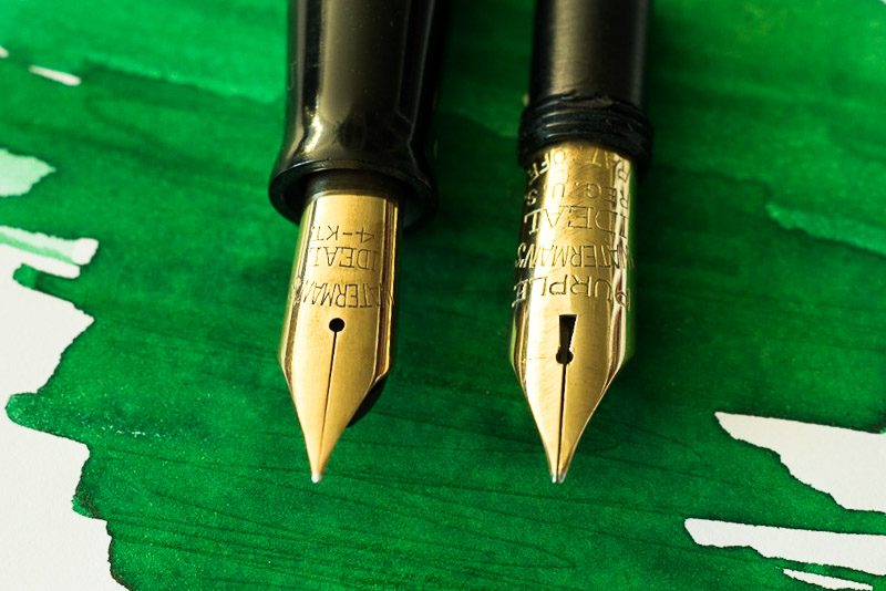 how to polish a fountain pen nib waterman flexible nib