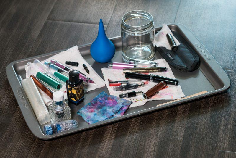 fountain pen accessories baking sheet