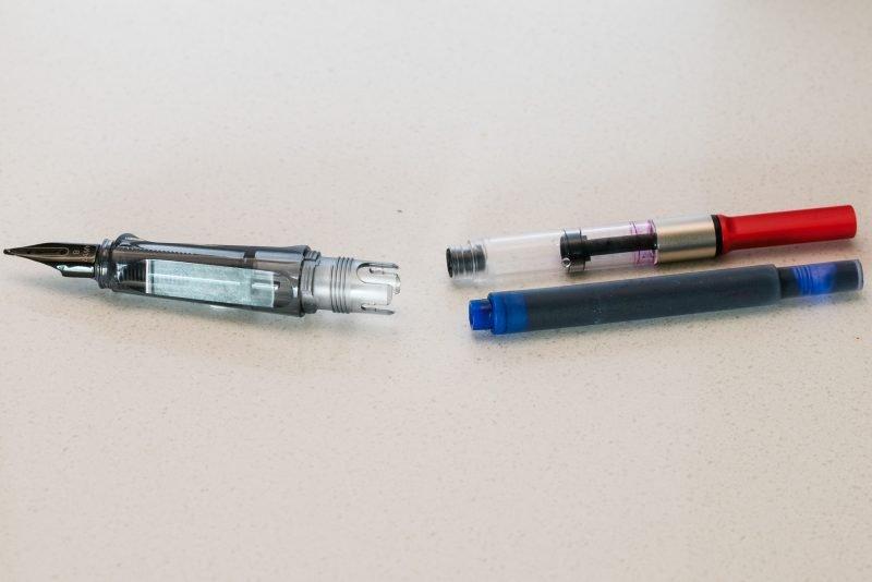 how to fill a fountain pen lamy vista converter