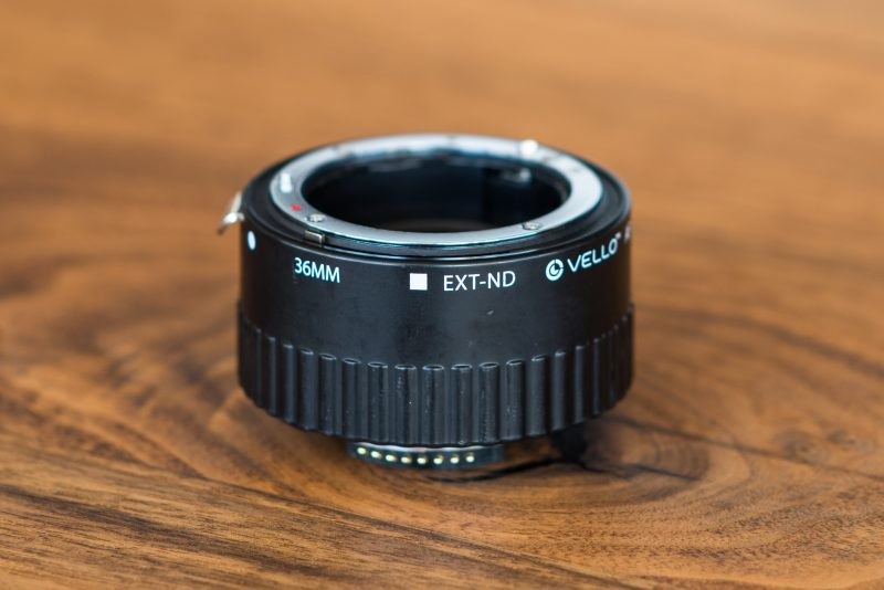 fountain pen photography extension tube