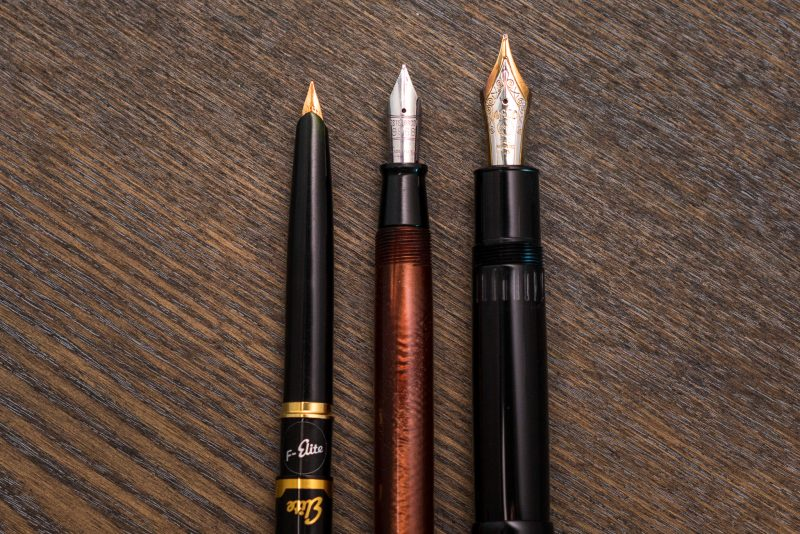 why use a fountain pen comparison