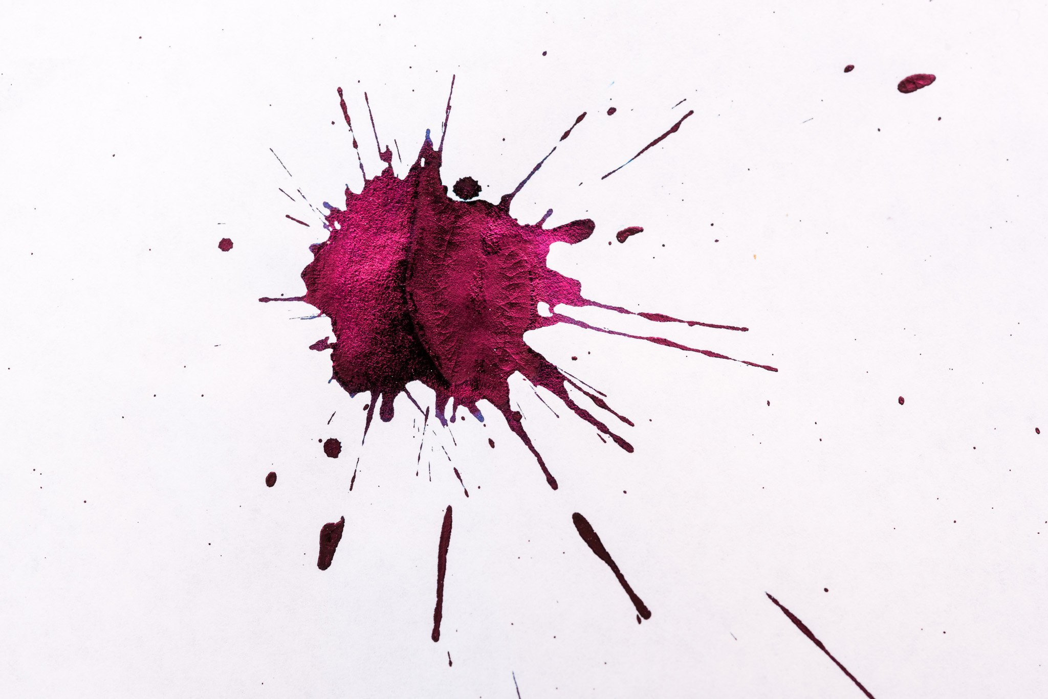 how to make an ink splat fountain pen love