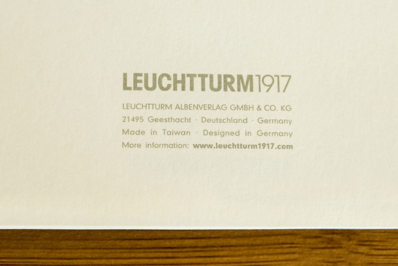 Leuchtturm1917 softcover notebook review