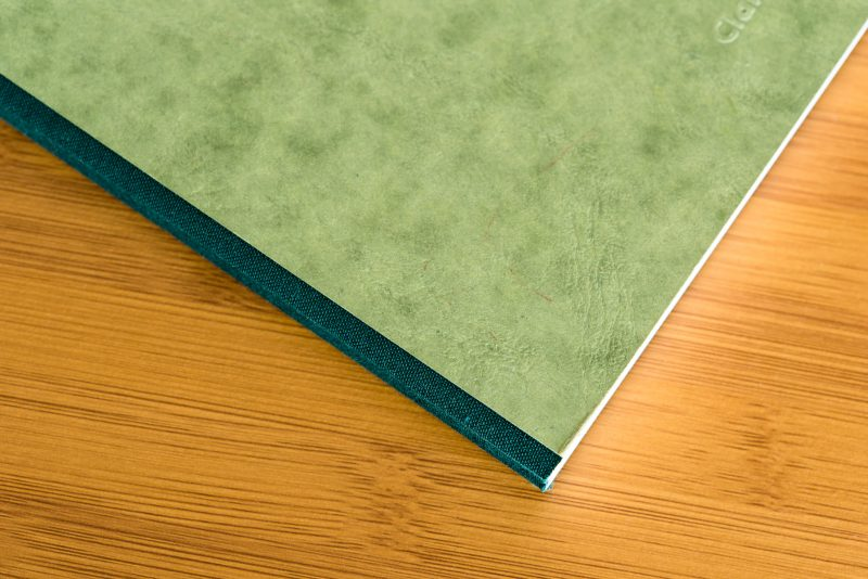clairefontaine basic clothbound notebook review cloth spine