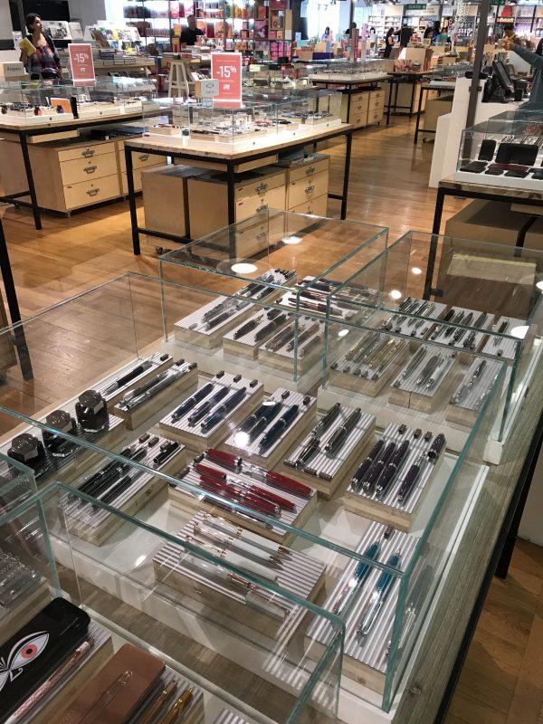 fountain pen shops in galleries lafayette