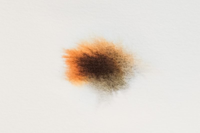 fountain pen ink chromatography watercolor paper
