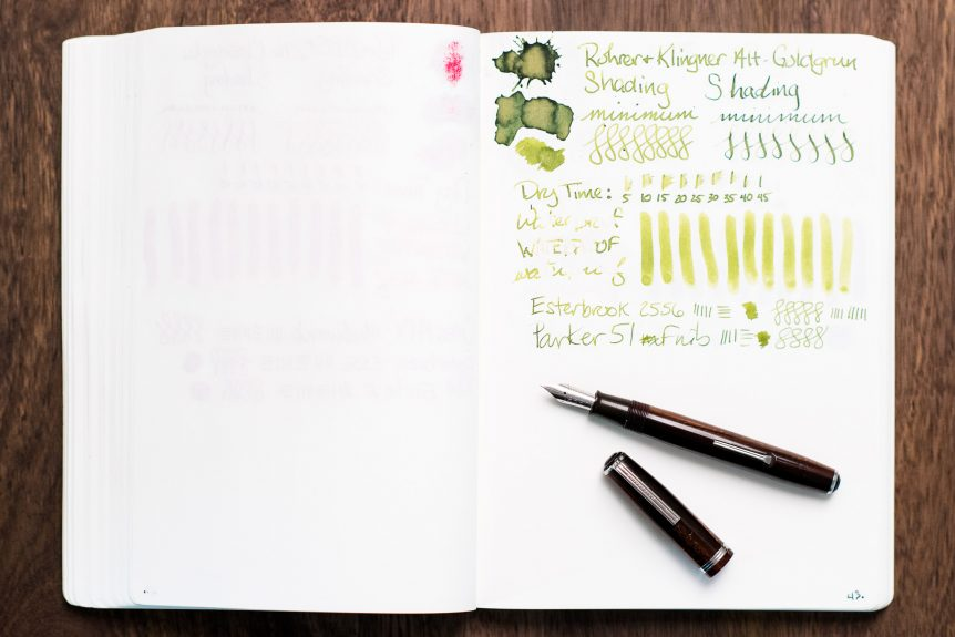 Creating A Fountain Pen Ink Journal