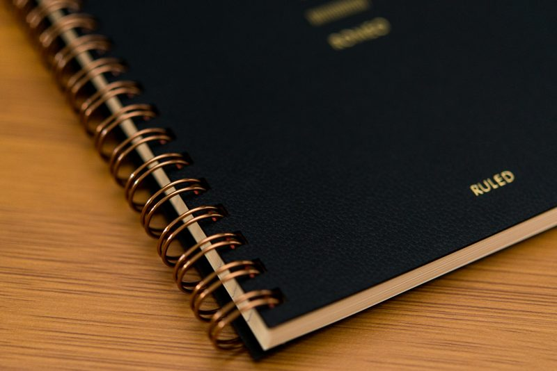 Itoya Romeo Notebook Review spiral binding