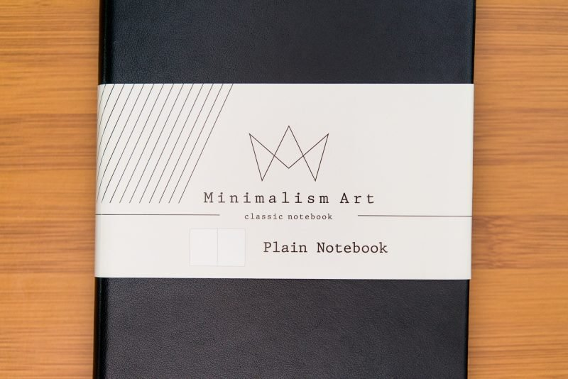 Minimalism Art Notebook Review