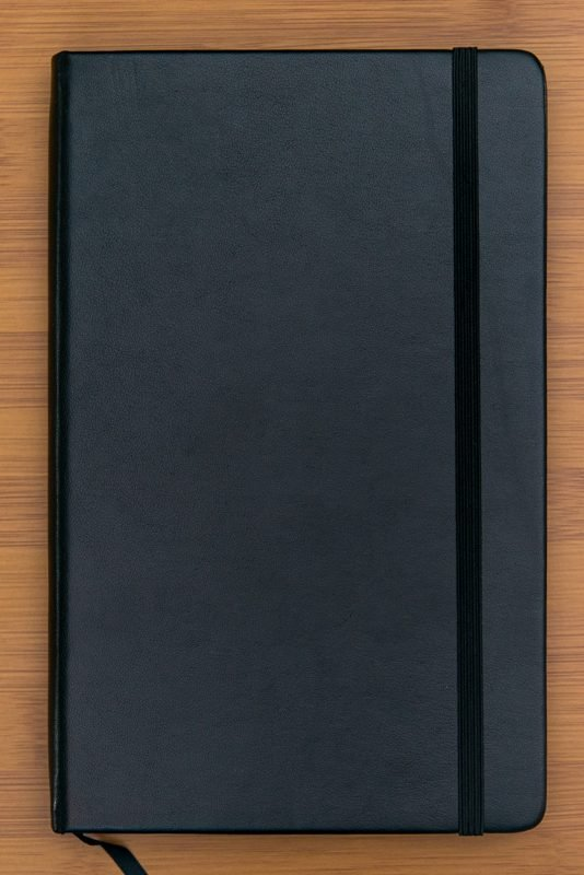 Minimalism Art Notebook Review elastic closure