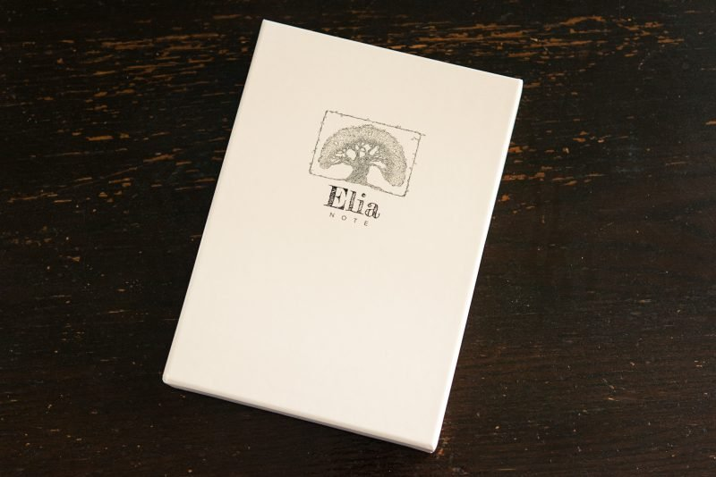 Elia Note notebook review tomoe river paper case