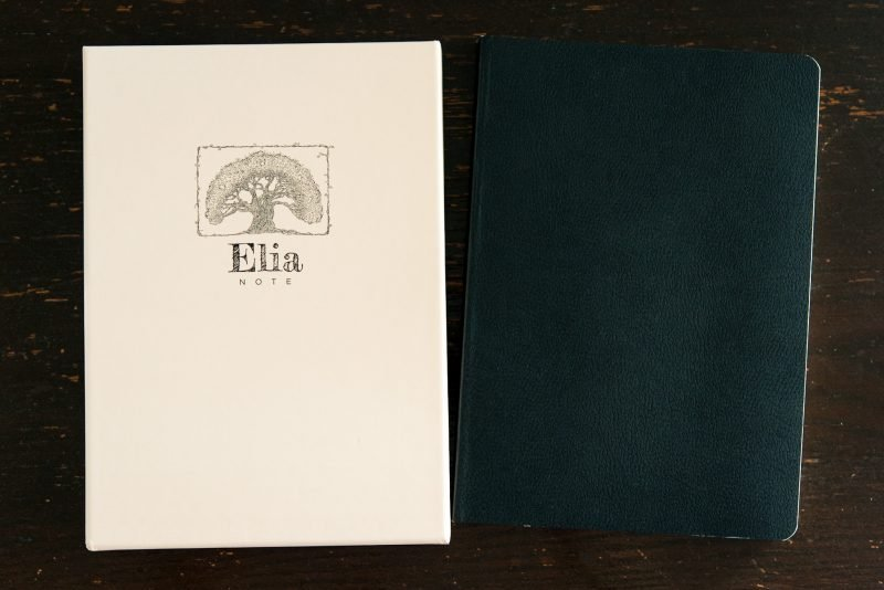 Elia Note notebook review tomoe river paper storage case