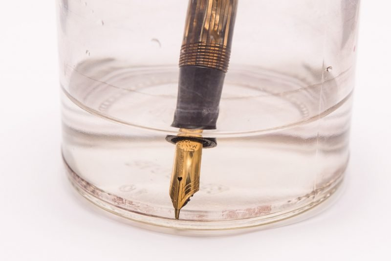 How to clean a fountain pen vintage Moore