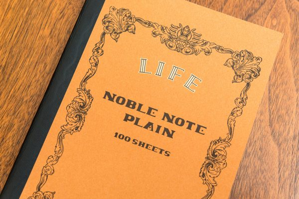 Life Noble Note Notebook Review cover detail