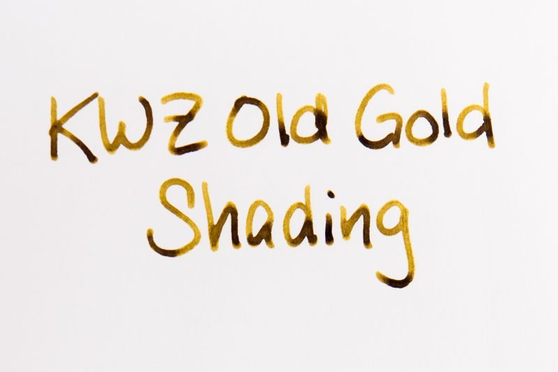get better fountain pen ink shading kwz old gold