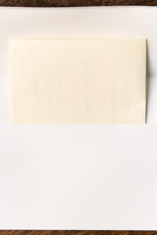fountain pen friendly envelopes letter