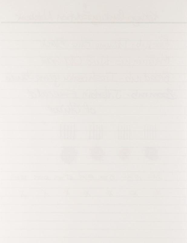 Kokuyo Century Edition Notebook review bleed