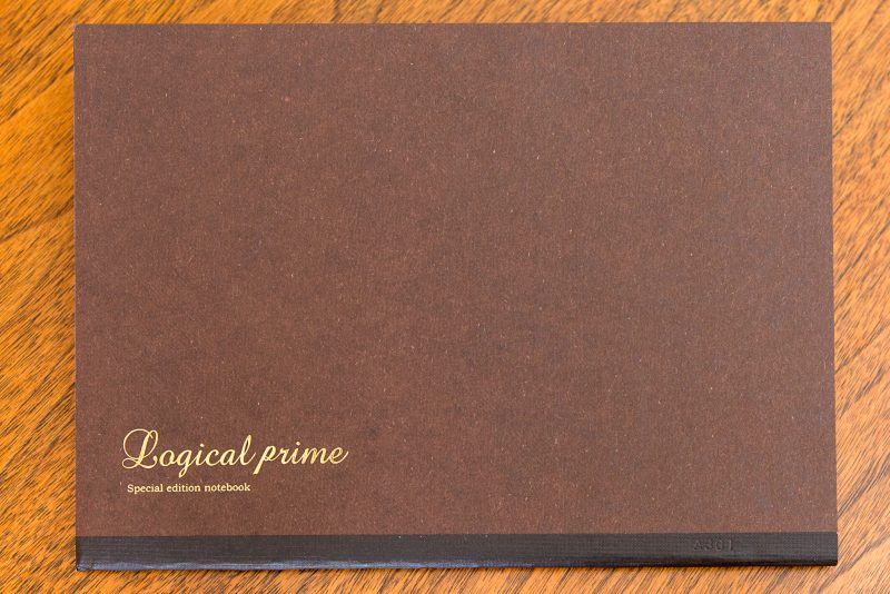 Logical prime notebook review cover