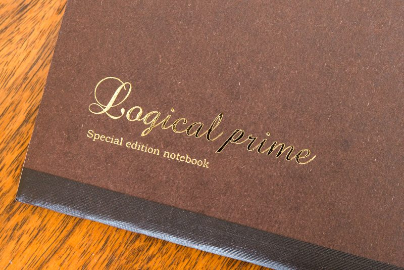 Logical prime notebook review foil