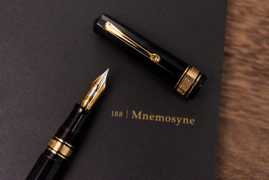 Maruman Mnemosyne Notebook Review omas paragon fountain pen