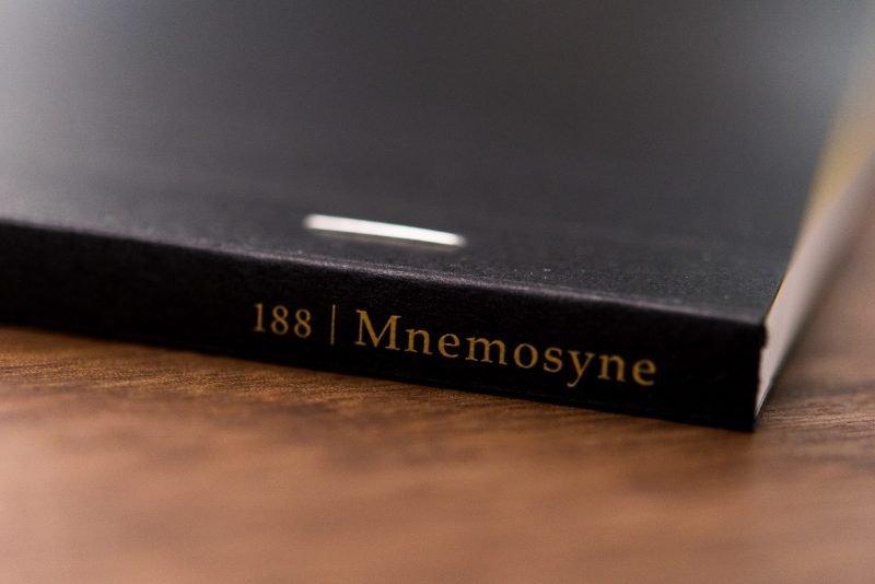 Maruman Mnemosyne Notebook Review staple