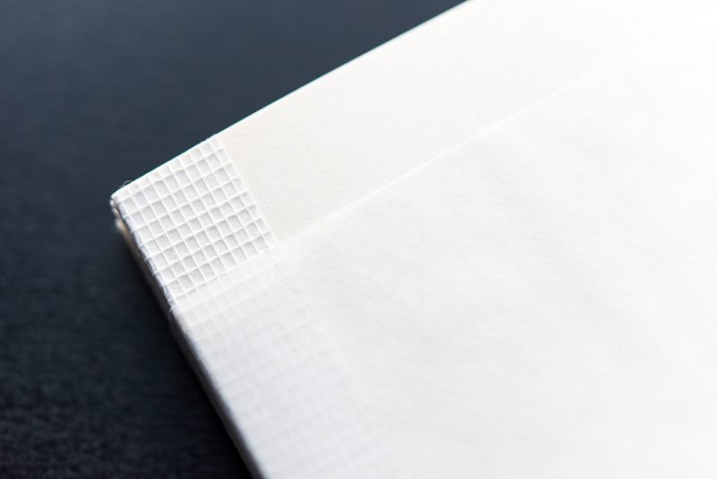 Midori MD Notebook Review paraffin cover