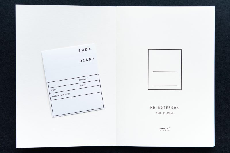 Midori MD Notebook Review cover page