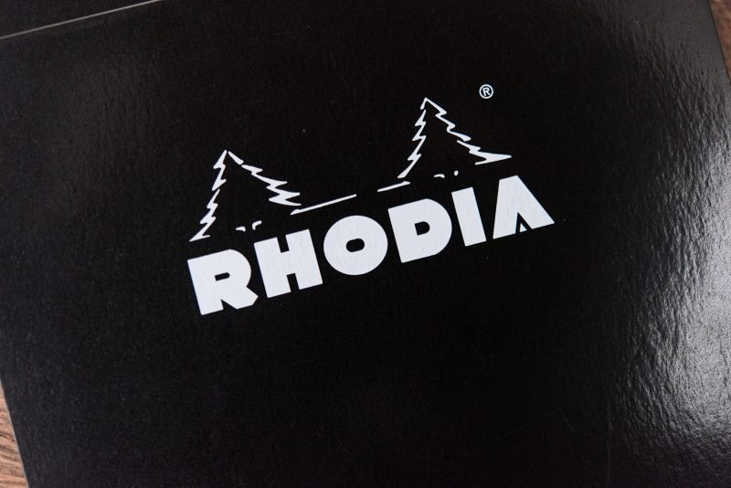 Rhodia Dot Pad Review cover trees