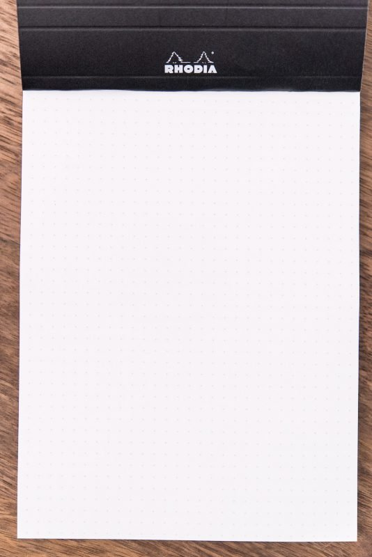 Rhodia Dot Pad Review dots