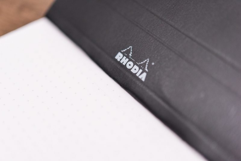 Rhodia Dot Pad Review cover bends