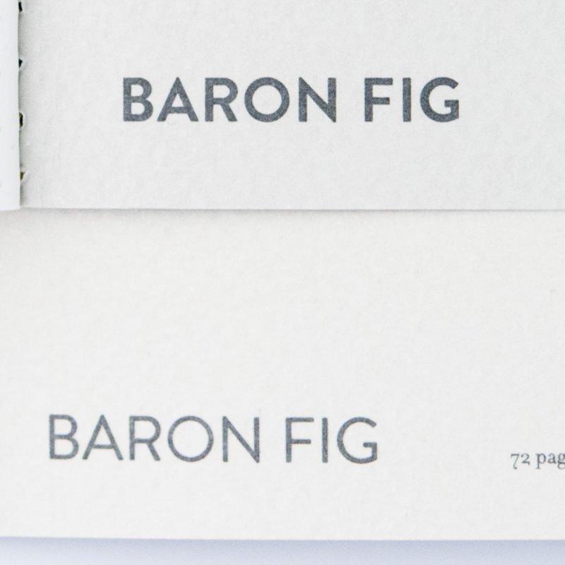 Baron Fig Vanguard Notebook Comparison logo