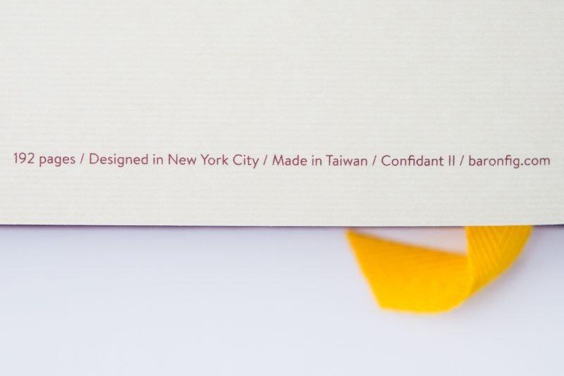Baron Fig Vanguard Notebook Comparison confidant notebook