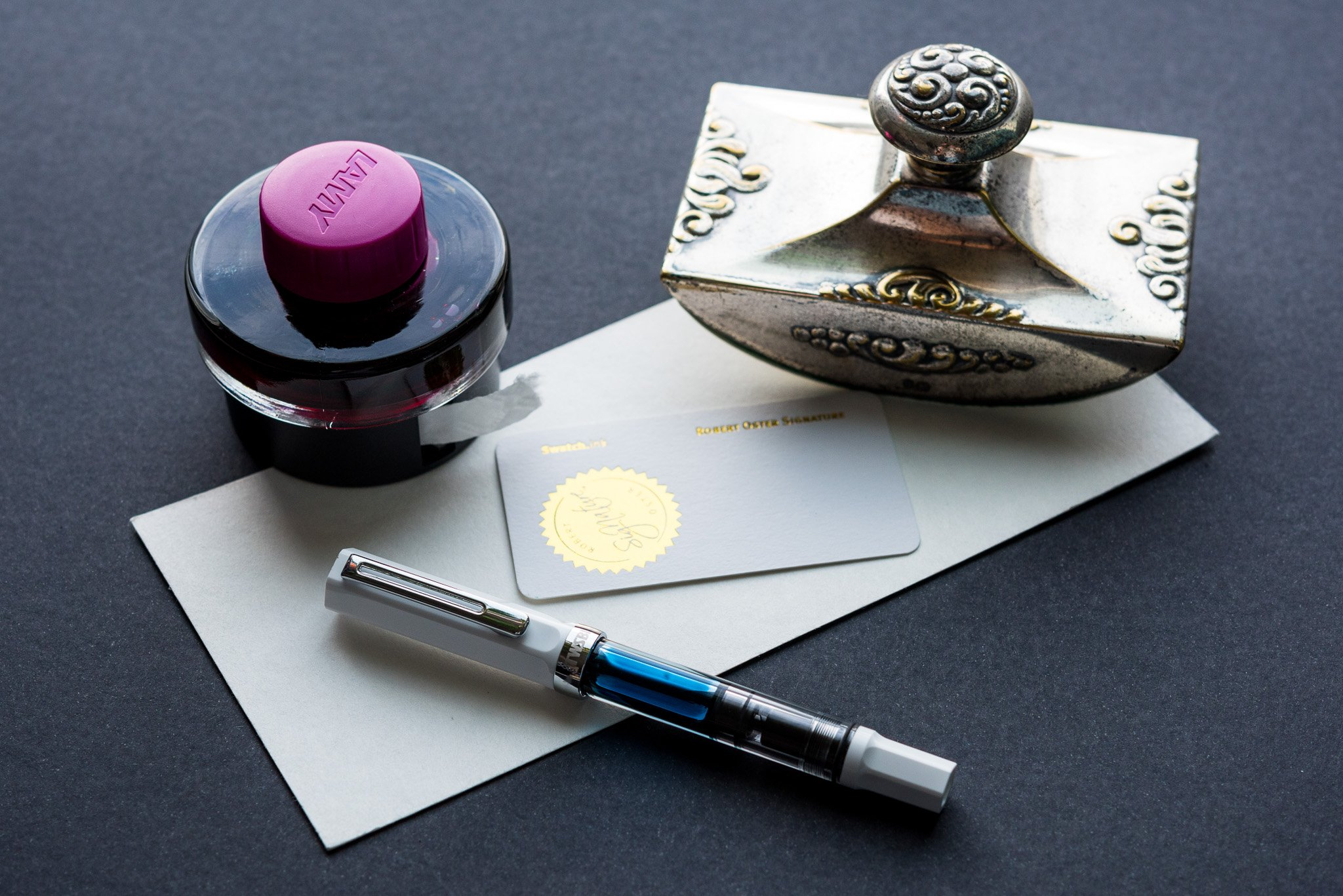 How To Use Fountain Pen Blotting Paper