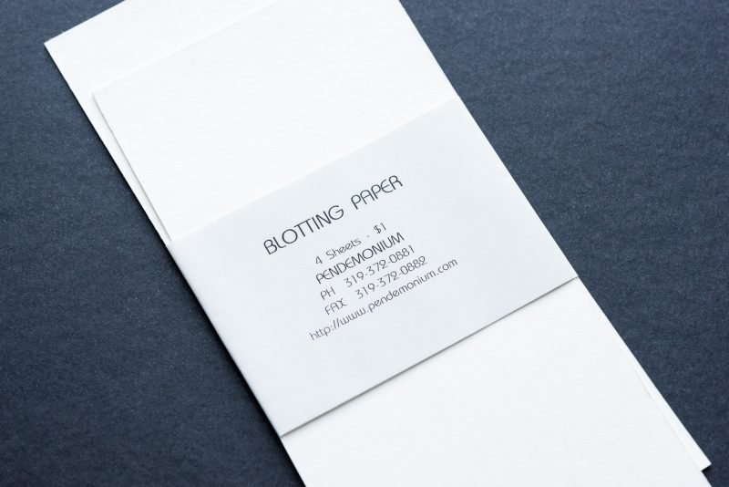 How To Use Fountain Pen Blotting Paper sheets