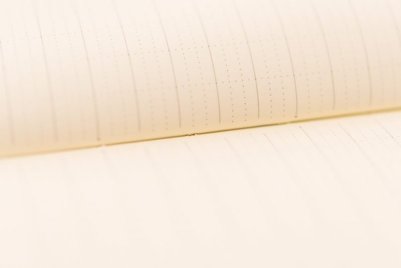 Itoya Profolio Oasis Notebook Review stitch binding