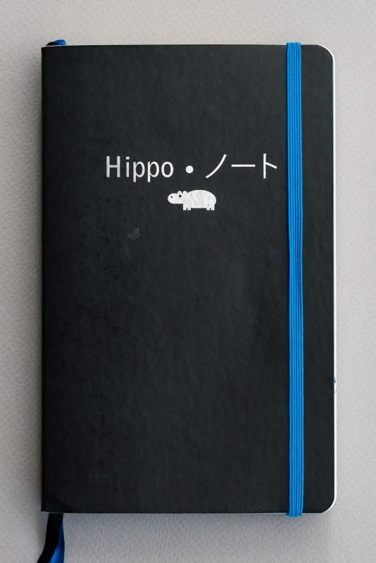 Fountain Pen Fun Notebook hippo noto
