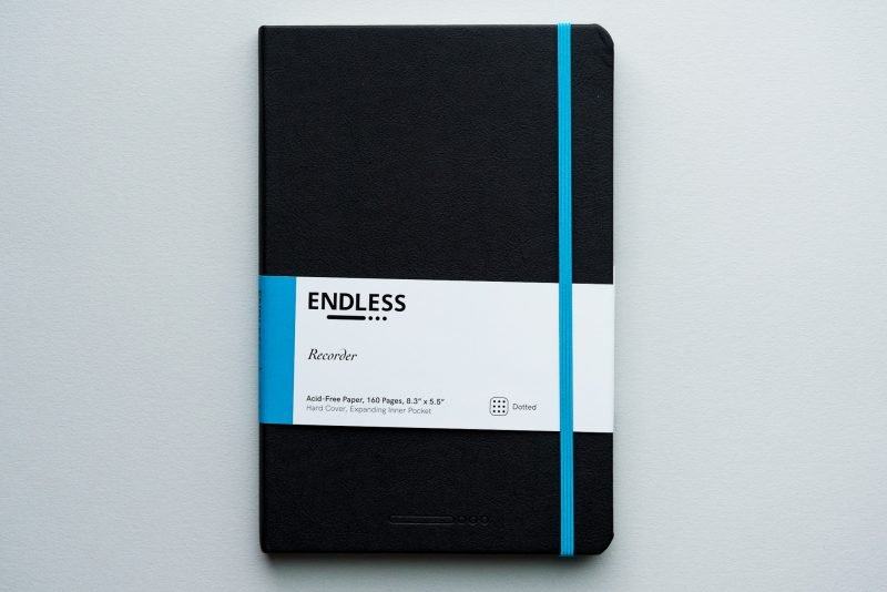 Pen Chalet Endless Recorder Notebook Review front cover