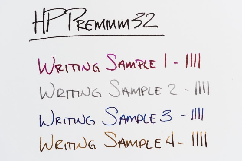 HP Premium32 paper review writing sample
