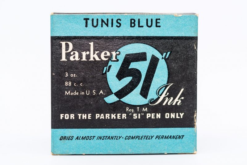 Identifying Vintage Fountain Pen Ink Bottles and Boxes Parker 51