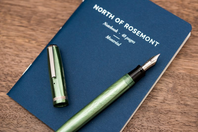 North of Rosemont notebook review with Esterbrook fountain pen