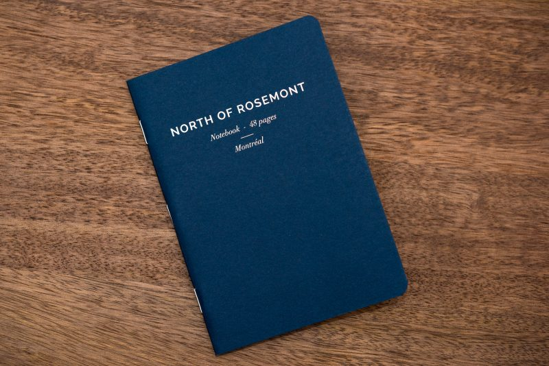 North of Rosemont notebook review front cover