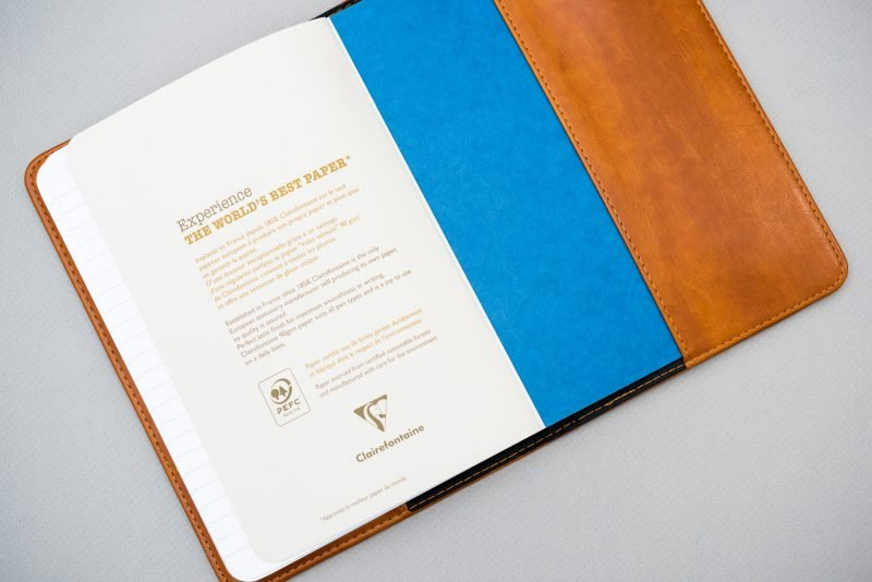 SohoSpark Journal Review clairefontaine basic notebook